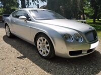 Bentley Continental GT Coupe W12 Auto. 2005 (55) 2006 Model Year. Registered Oct 2005.