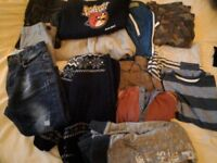 Bag full boys clothes age 7/8 years