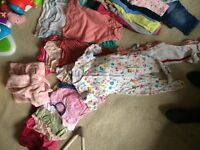 Baby girl clothes 6-9months