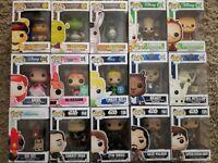 Disney and Dreamworks Funko Pop Bundle Collection Joblot 15 pops