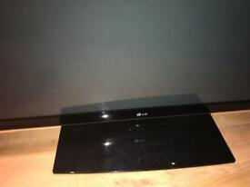 "LG 60"" tv with remote an stand"