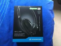 2x sennheiser 2.20s hd brand new no open original no fake