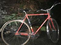 Vintage BSA Raleigh Tour de France men's bicycle bike