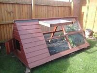 Coup House Hutch for Chickens, quales, rabbits etc