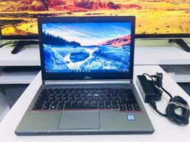 RRP £1250+ * FUJITSU LIFEBOOK E736 * Intel i5-6300u * 500GB SSD * 4GB *BUSINESS LAPTOP like ThinkPad