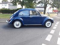 VW BEETLE STICK SHIFT AUTOMATIC 1968 TAX & MoT EXEMPT 57k miles. NEW MoT