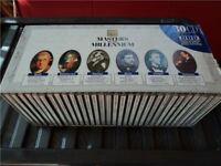 classical CDs box set of 30 discs rare masters of the millenium classic composers