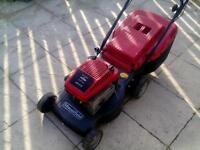 Mount field sp470 self propelled petrol lawnmower
