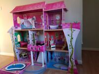 beautiful house for Barbie