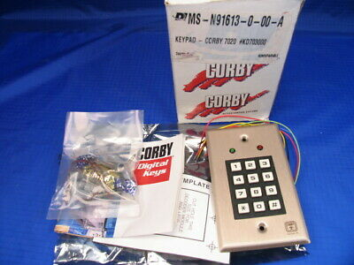 Nos Corby Keypad 7020 Programmable For Doors And Alarm Systems  S4