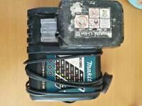 makita charger and battery