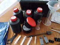Darkroom developer kit for students and film photographers