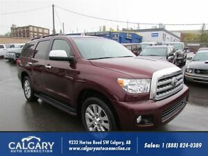 2011 Toyota Sequoia Limited / 5.7L/ FULLY LOADED/DVD V8