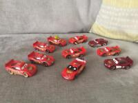 Disney cars die cast toys