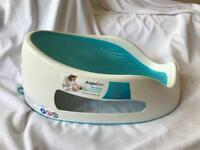 Blue angelcare soft bath seat