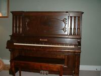 Vintage Piano - 1891 Newcombe Upright