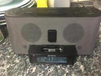 Sony Alarm Clock/Radio with speakers