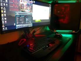 Gaming PC full SETUP Bundle(MAX SPECS)