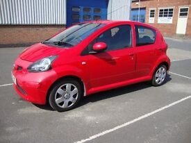 Toyota Aygo 5 dr MOT until March 2018 owned from new