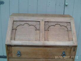Light oak bureau old charm style