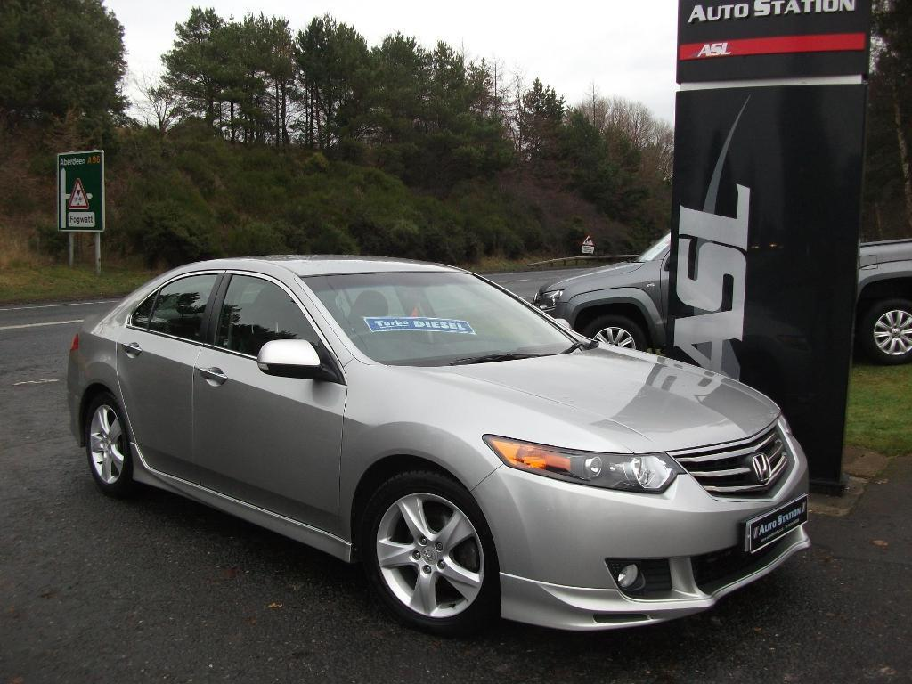 Honda accord 2 2 i dtec es gt 4dr silver 2010 in elgin for Honda accord old model