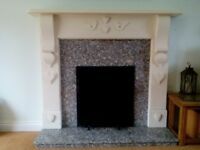 Jetmaster wood burner fire place