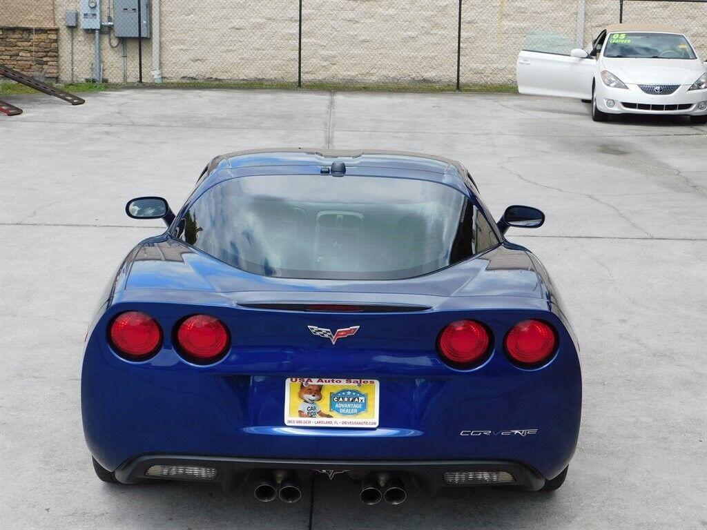 2005 Blue Chevrolet Corvette   | C6 Corvette Photo 8