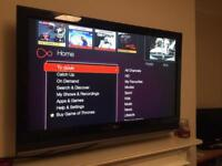 """42"""" inch LG lcd - Perfect Condition! With Remote, Stand & Brand New Wall Bracket!"""
