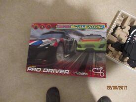 Scalextric micro car racing set