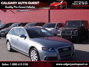 2011 Audi A4 2.0T AVANT AWD/LEATHER/PANO-ROOF