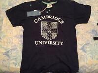 Official University of Cambridge Merchandise T shirt small