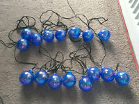 Christmas Light Baubles - Fully Working Condition