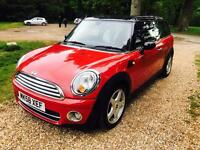Stunning automatic red chilli clubman Diesel with new mot and low mileage