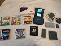 Nintendo DS Lite, Original Box, Charger and Accessories