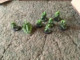 warmhammer 40k eldar squad