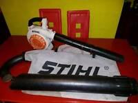 stihl sh85 leaf blower-vacuum shredder