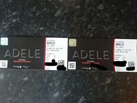 Adele Finale 2 x amazing views seated together tickets Saturday 1/7/2017 Wembley Stadium