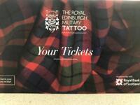 Edinburgh Military Tattoo Tickets