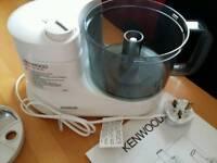 Kenwood gourmet food processor