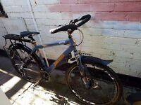 modified steel mountain bike plus extras and upgrades - open to offers