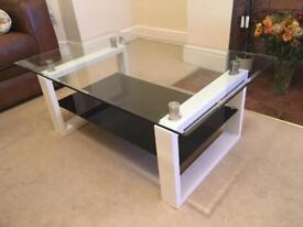 Good Condition Glass Coffee Table