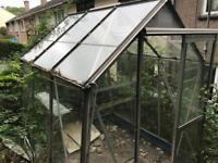 Approximately 5x6ft greenhouse FREE