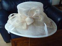 Gold Filigree Wedding Hat
