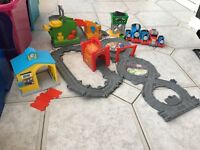 Thomas the tank trains, track and accessories