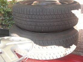 Honda Jazz Wheels/tyres [4] 175 65 14