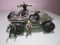 HALO 4 WARTHOG DIE-CAST MODEL SERIES 1 JADA - Used in very good condition
