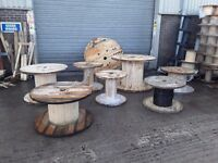 Cable drums used various sizes from 700mm to 1600mm diameter can deliver locally