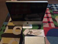 "iMac 20"" All-In-One 2.66GHz 2009 6GB RAM (upgraded) Wireless keyboard Latest El Capitan working!!!"