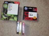 HP 364 genuine Ink cartridges