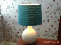 Table lamp £7